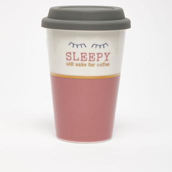 Printed Travel Mug with Lid