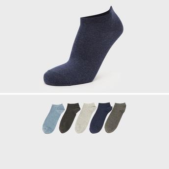 Set of 5 - Solid Ankle Length Socks