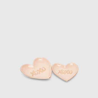 XOXO Decorative Jewellery Plate