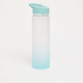 Hello Water Ombre Hue Sipper Bottle