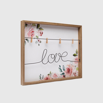 Love Wall Decorative Clipboard