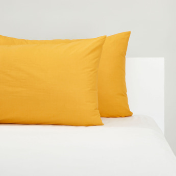 Set of 2 - Solid Pillow Case