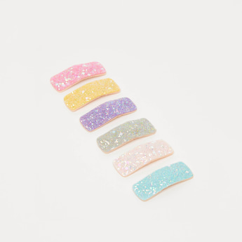 Set of 6 - Embellished Hair Clip