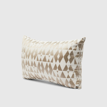 All-Over Print Filled Cushion with Zip Closure – 50x30 cms