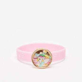 Unicorn Applique Detail Wrist Band