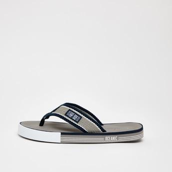 Textured Slip-On Flip Flops