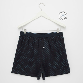 Set of 2 - Boxers with Elasticated Waistband
