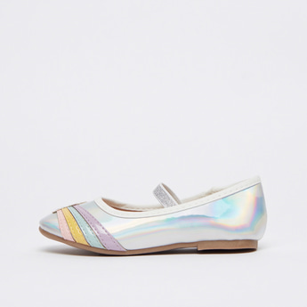 Applique Detail Shoes with Elasticised Strap