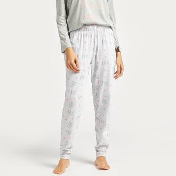 Printed Full Length Pyjama with Elasticated Waistband