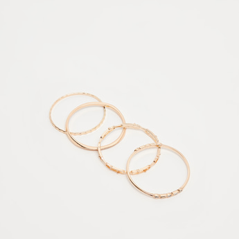 Pack of 4 - Studded Bangles