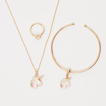 Unicorn 3-Piece Jewellery Set