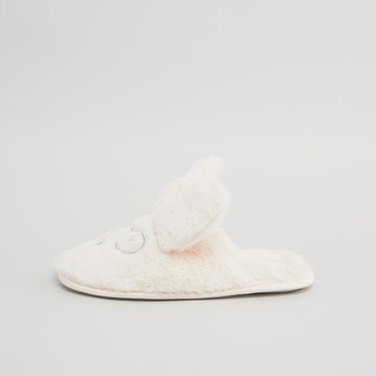 Plush Bunny Bedroom Slippers