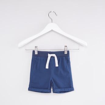Pocket Detail Shorts with Elasticised Waistband