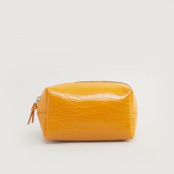 Reptilian Textured Pouch