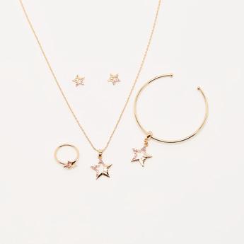Star Studded 5-Piece Jewellery Set