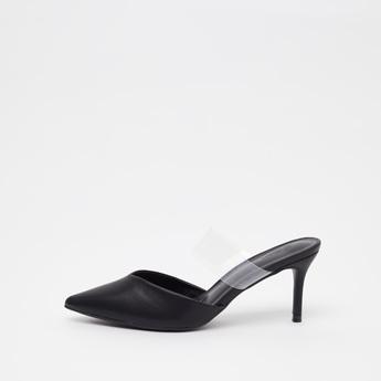 حذاء ميول سهل الارتداء مزيّن بمقدّمة مدبّبة