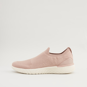 Textured Shoes with Pull Tab