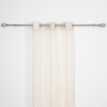 Textured Sheer Curtain - 240x135 cms