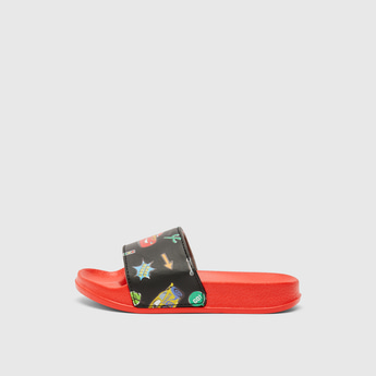 Cars Print Slip-On Slides