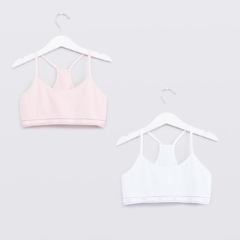 Set of 2 - Seamless Bra with Racerback