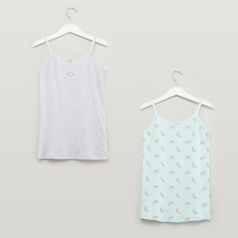 Set of 2 - Printed Camisole Top