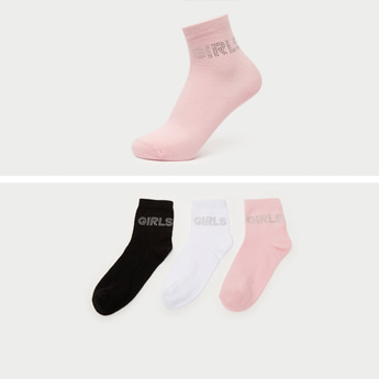 Pack of 3 - Assorted Ankle Length Socks