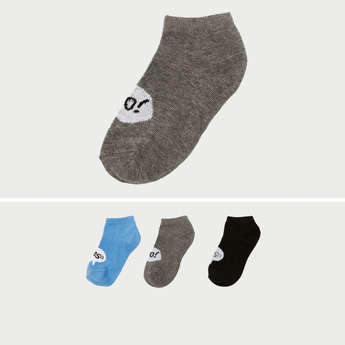 Set of 3 - Assorted Ankle Length Socks