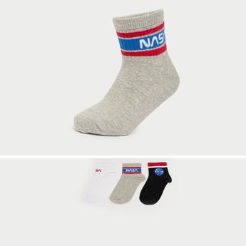 Set of 3 - NASA Themed Ankle Length Socks