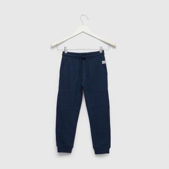 Full Length Grindle Pique Knit Jog Pants with Pocket Detail