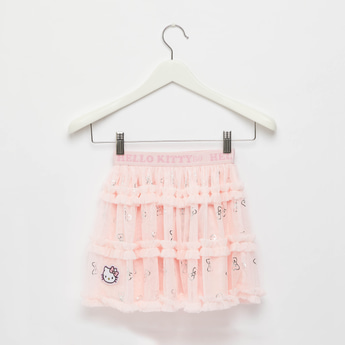 Hello Kitty Tiered Skirt with Elasticised Waistband