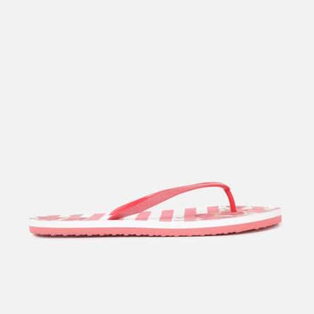 GINGER Women Printed V-strap Slippers