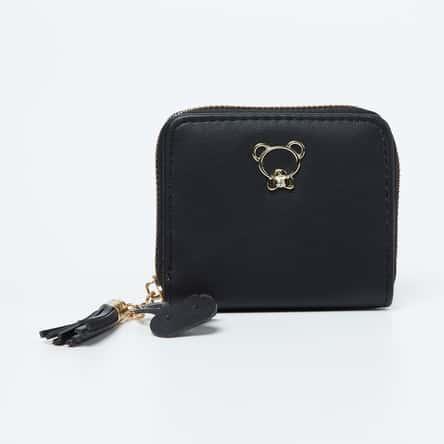TONIQ Embellished Zip-Around Wallet