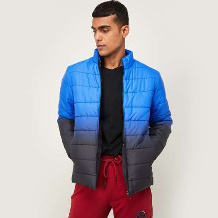 KAPPA Men Ombre Pattern Puffer Jacket