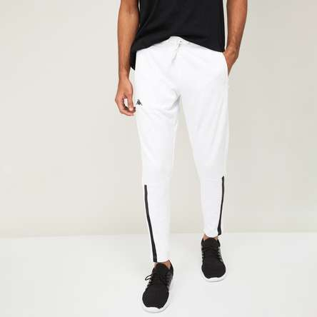 KAPPA Men Solid Slim Fit Ankle-Length Track Pants