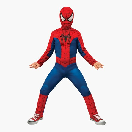 Spider-Man Costume Jumpsuit with Snood