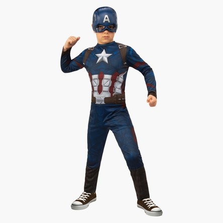 Captain America Jumpsuit with Mask
