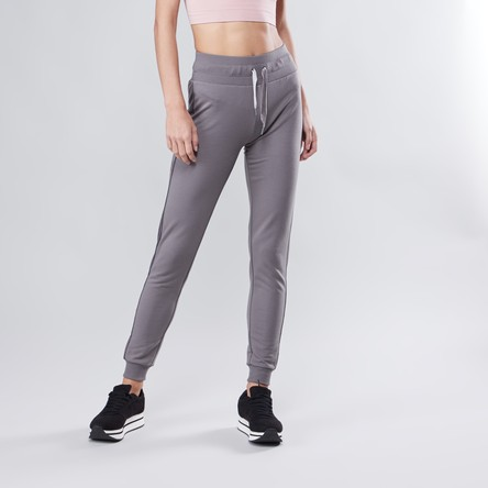 Full Length Plain Jog Pants with Elasticised Waistband