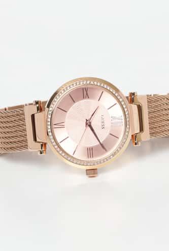 GUESS Women Embellished Analog Watch - W0638L4