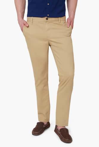 FAME FOREVER Solid Pocketed Pants