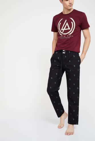 U.S. POLO ASSN Logo Print Lounge Pants