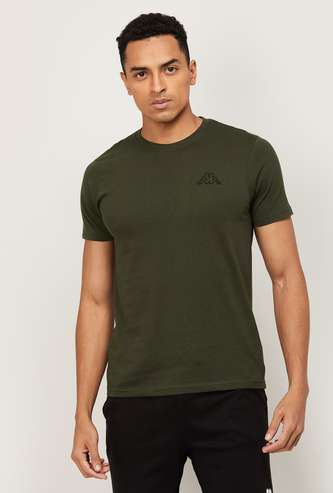 KAPPA Men Solid Crew Neck T-shirt