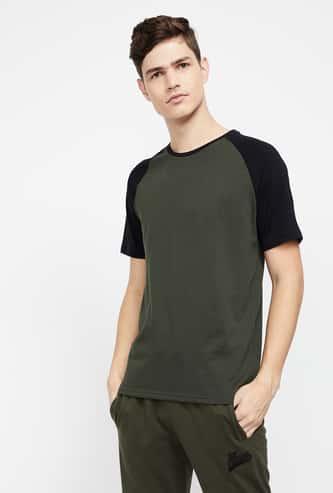 KAPPA Men Regular Fit Raglan Sleeves Training T-shirt