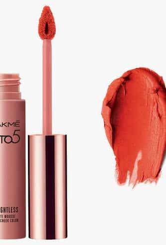 LAKME 9 to 5 Weightless Matte Mousse Lip & Cheek Colour
