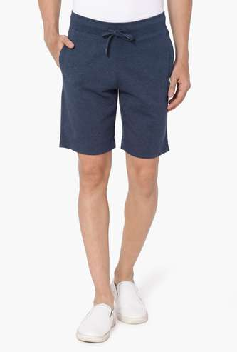 FAHRENHEIT Solid Interlock Shorts