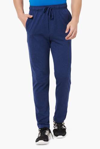 FAHRENHEIT Grindle Effect Knitted Track Pants