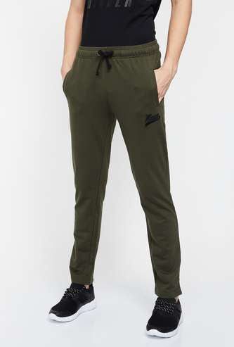 KAPPA Men Solid Knitted Trackpants