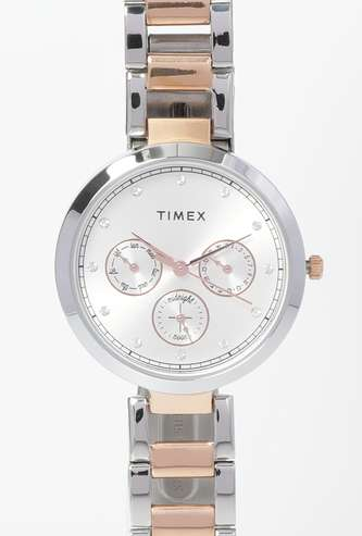 TIMEX Women Water-Resistant Chronograph Watch - TW000X214