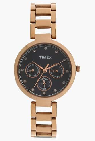 TIMEX Multifunction Round Dial Watch- TW000X215