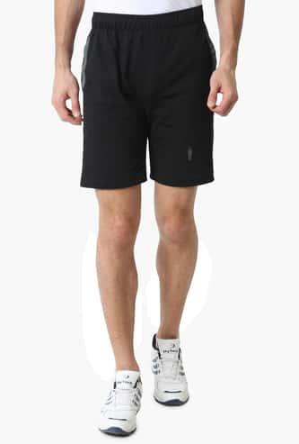 JOCKEY Solid Knitted Sports Shorts