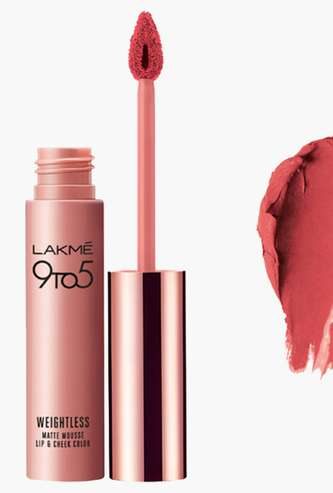 LAKME 9-To-5 Candy Floss Liquid Lip Colour